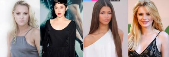 Maika Monroe, Rosa Salaza, Zendaya, Bella Thorne en lice pour Alita Battle Angel
