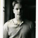Matt Damon - Gus Van Sant, Polaroïds, 1983-1999 © Gus Van Sant.