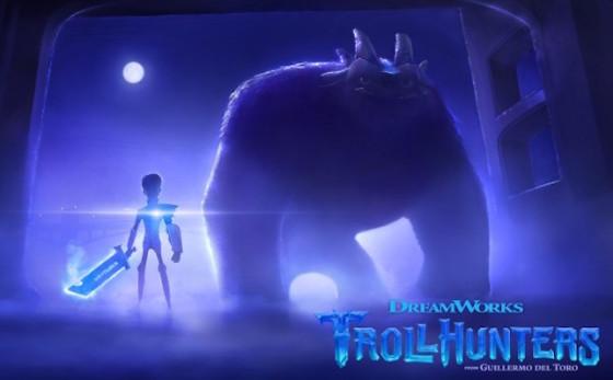 Premiere image de la série animée Trollhunters de Guillermo del Toro / DreamWorks
