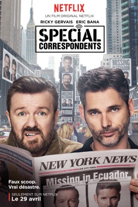 Special Correspondents de Ricky Gervais - affiche