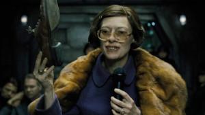 Tilda Swinton dans Snowpiercer - Le Transperceneige de Bong Joon-ho