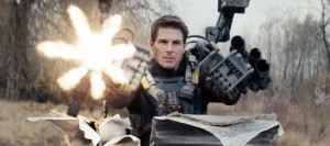 Tom Cruise dans Edge of Tomorrow