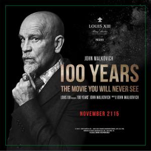 100 Years - projet de John Malkovich - affiche teaser