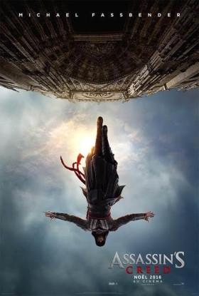 Assassin's Creed avec Michael Fassbender - affiche