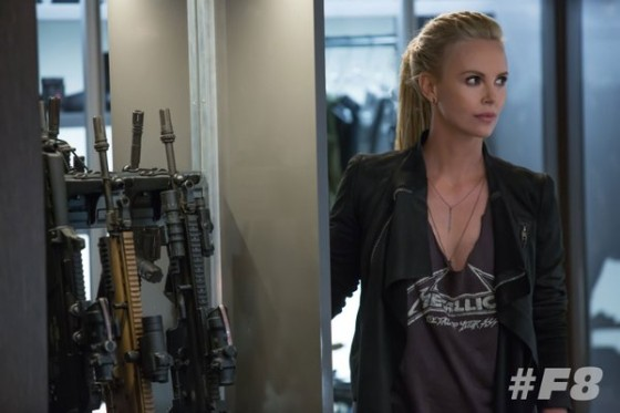 Charlize Theron - premier cliche Fast and Furious 8