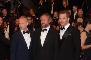 Chris Pine, Ben Foster et David Mackensie
