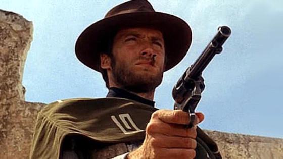 Clint Eastwood - Pour une poignee de dollars de Sergio Leone