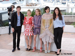 Equipe La Danseuse - photocall - Cannes 2016 - Photo Philippe Prost pour CineChronicle