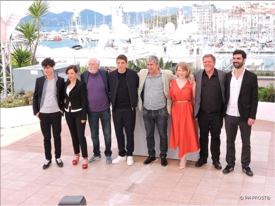 Equipe de Rester Vertical - photocall Cannes 2016 - Photo Philippe Prost pour CineChronicle