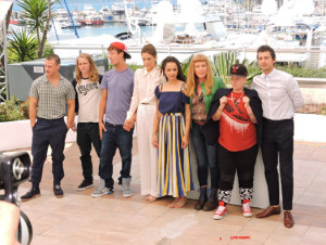 Equipe American Honey - Cannes 2016 – Photo Philippe Prost pour CineChronicle