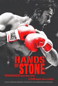 Hands of Stone - affiche