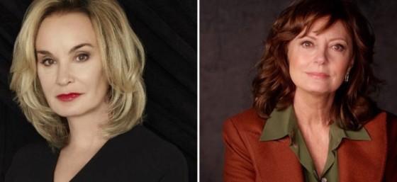 Jessica Lange et Susan Sarandon chez Ryan Murphy