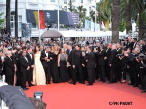 Montée des Marches Money Monsters - Cannes 2016 - Photo Philippe Prost pour CineChronicle