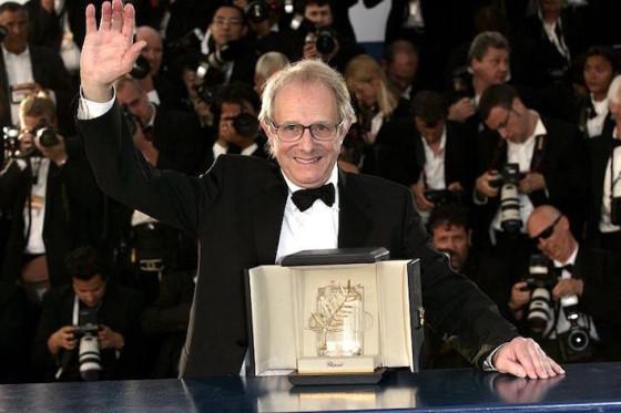 Ken Loach - palme d'or Moi Daniel Blalke - Cannes 2016