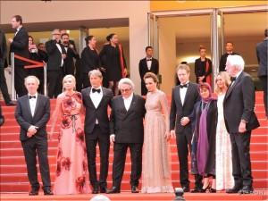 Le Jury - montée des marches - Cannes 2016