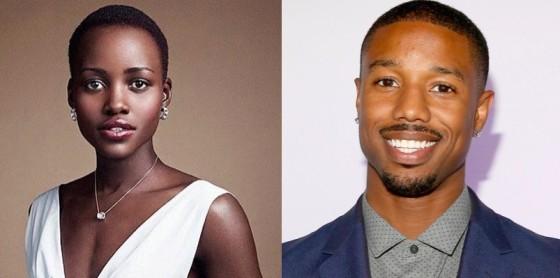 Lupita Nyong'o et Michael B. Jordan