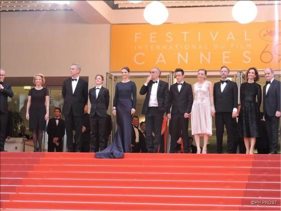 Ma Loute - montée des marches - Cannes 2016 - Photo Philippe Prost pour CineChronicle
