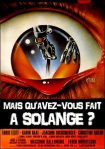 Mais quavez-vous fait a Solange - poster