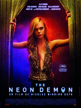 The Neon Demon de Nicolas Winding Refn - affiche