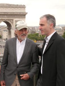 Vilmos Zsigmond et Pierre Filmon - Arc de Triomphe - Juin2015 - Photo Hurault