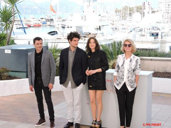 Équipe de Mal de pierres - Cannes 2016 – Photo Philippe Prost pour CineChronicle