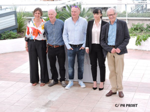 Equipe Moi Daniel Blake - photocall - Cannes 2016 - Photo Philippe Prost pour CineChronicle