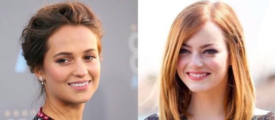 Alicia Vikander et Emma Stone pourraient jouer Agatha Christie