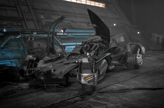 La Batmobile - Justice League de Zack Snyder
