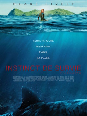 Instinct de Survie The Shallows - affiche