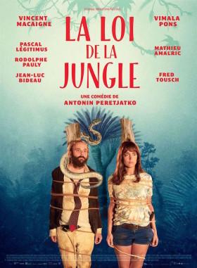 La Loi de la Jungle de Antonin de Peretjatko - affiche