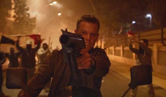 Matt Damon dans Jason Bourne de Paul Greengrass