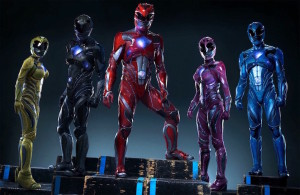 Power Rangers - Becky G, Dacre Montgomery, Ludi Lin, Naomi Scott, RJ Cyler