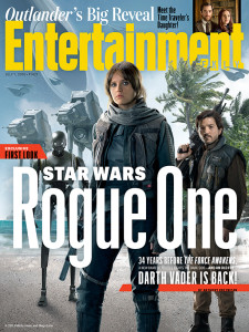 Rogue one – A Star Wars Story - Entertainment Weekly couverture