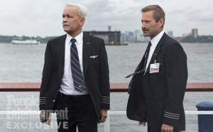 Tom Hanks et Aaron Eckhart dans Sully de Slint Eastwood