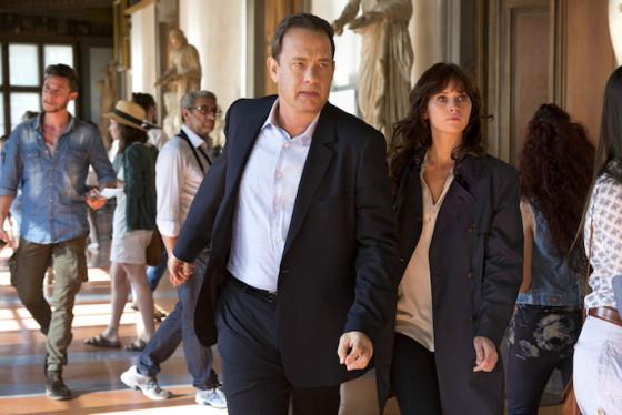 Tom Hanks et Felicity Jones dans Inferno de Ron Howard