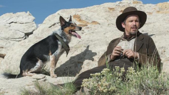 Ethan Hawke dans In a Valley of Violence de Ti West