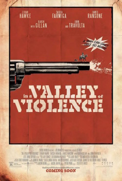 In a Valley of Violence de Ti West - affiche