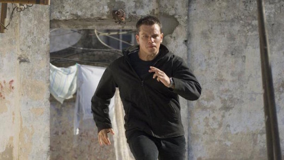 Matt Damon dans Jason Bourne de Paul Greengrass