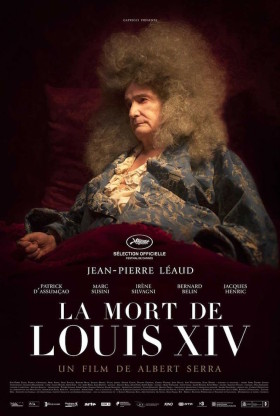 La Mort de Louis XIV de Albert Serra - affiche