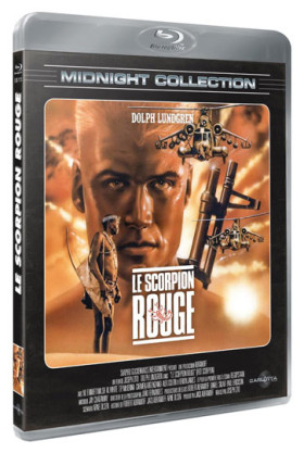 Le Scorpion Rouge - jaquette blu-ray