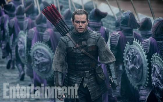 Matt Damon - La Grande Muraille de de Zhang Yimou