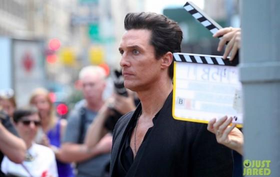 Matthew McConaughey - tournage La Tour Sombre (The Dark Tower)