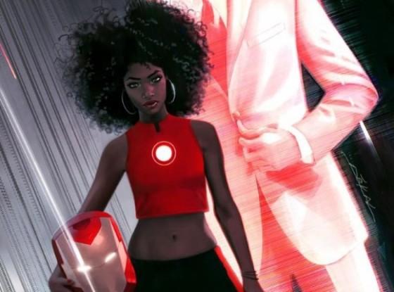 Riri William - la nouvelle Iron Man pour Marvel NOW