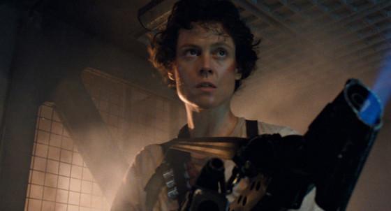 Sigourney Weaver dans Aliens