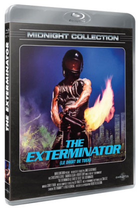 The Exterminator - jaquette Blu-ray