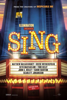 Tous en scène (Sing) - affiche