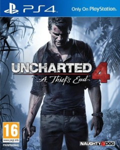 Uncharted 4-A Thiefs End -jaquette