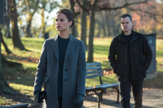 Alicia Vikander et Matt Damon - Jason Bourne