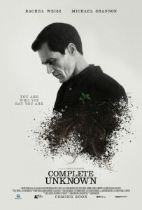 Complete Unknown - poster Michael Shannon