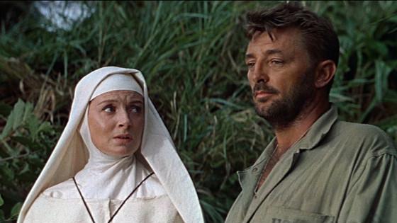 Deborah Kerr et Robert Mitchum - Dieu seul le sait